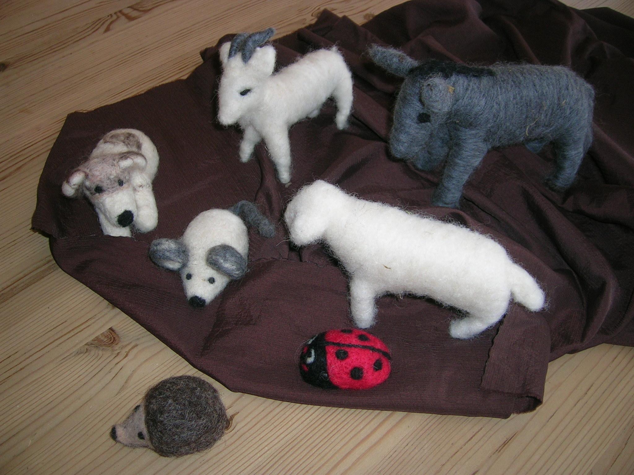 Wolltiere